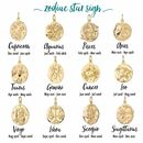 Gold Plated Zodiac Charms by Lily Charmed
