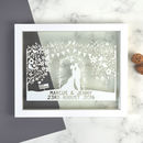 Personalised Wedding Papercut