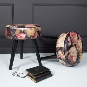 Floral Romance Stool - furniture