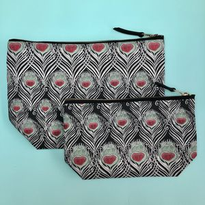 Liberty Print Caesar Wash Bag/Make Up Bag Or Set