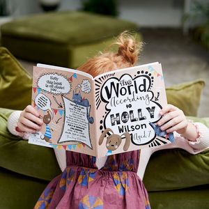 'The World According To…' Personalised Child's Journal - toys & games
