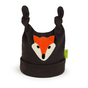 Fox Cotton Baby Hat - babies' hats