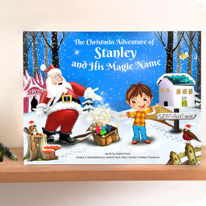 Personalised Christmas Story Book With Exclusive Cover - gifts for children