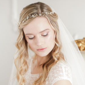 Flower Wedding Hairvine - bridal hairpieces