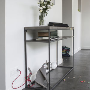 Concrete Perspective Console - side tables