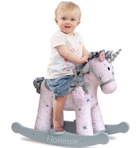 Personalised Rocking Unicorn - baby's room