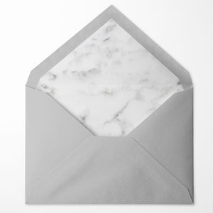 Marble Lined Envelopes Pack Of 10 - card crafting