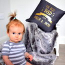 Personalised The Best Dad Cushion
