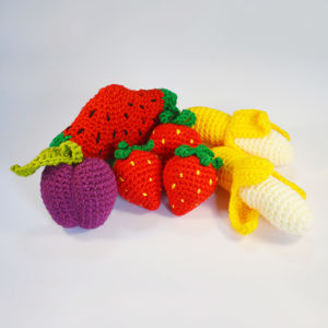 Crocheted Amigurumi Play Fruit - whatsnew