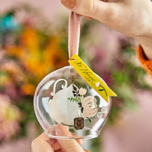 Tea Time Glass Keepsake