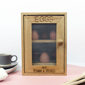 Personalised Egg Cabinet - dining room