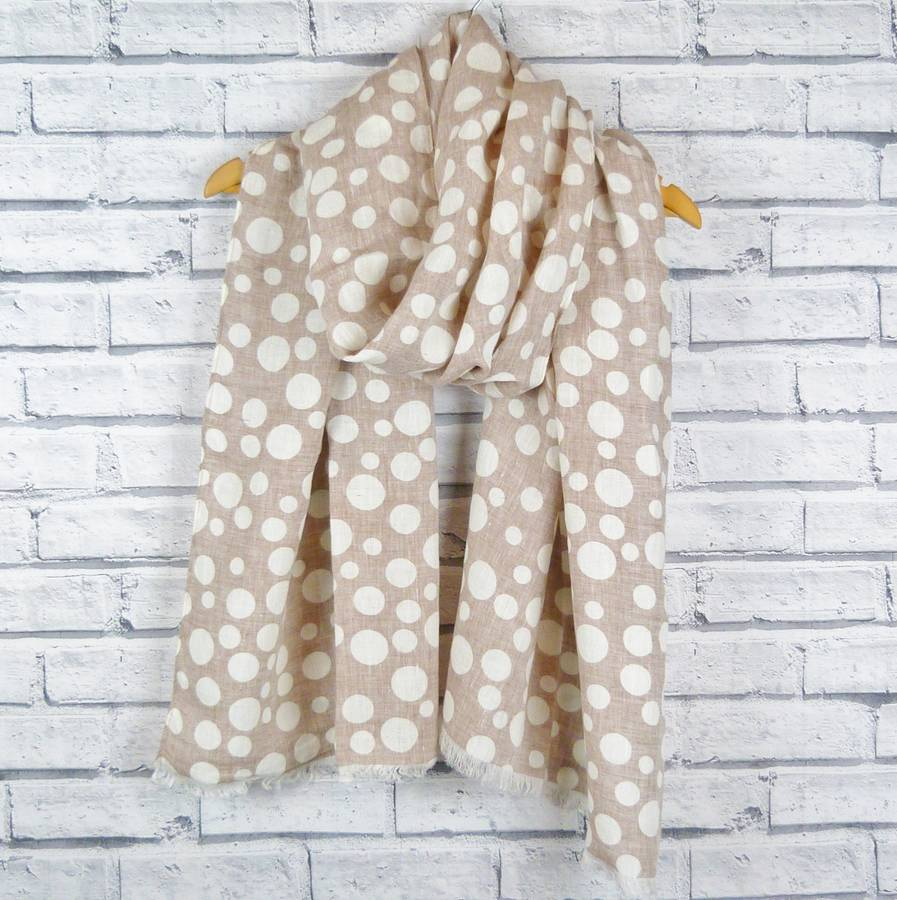 Frayed Linen Scarf