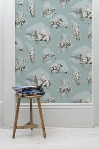 Saddle Up Wallpaper - dining room