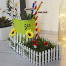 Personalised Mini Garden Desk Tidy