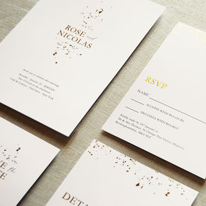 Alchemy Wedding Invitation Set - engagement & wedding invitations