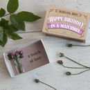 Happy Birthday Miniature Bouquet Of Paper Roses