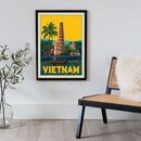 Vietnam Travel Print