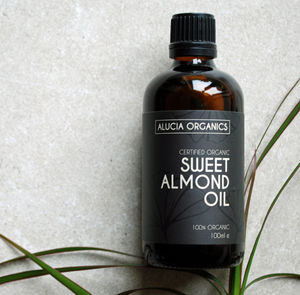 Organic Sweet Almond Oil - massage & aromatherapy
