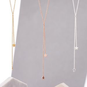 Double Shooting Star Necklace