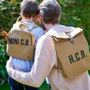 Personalised Mini Me Sustainable Rucksack Set