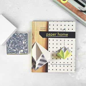 Origami Book And Colourful Paper Set