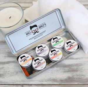 Moustache Wax Gift Set | For Styling Handlebars
