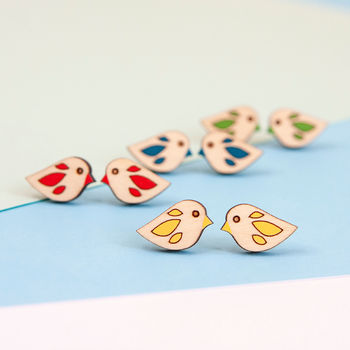 Little Bird Stud Earrings