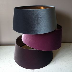 Blush Velvet And Copper Lampshades - view all new