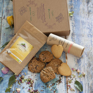 Tea And Cookies, Gf, Dairy Free, Tea Time Hamper