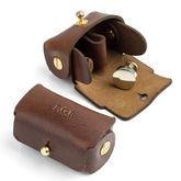 Leather Pouch For Cufflinks - men's jewellery