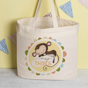 Personalised New Baby Bag