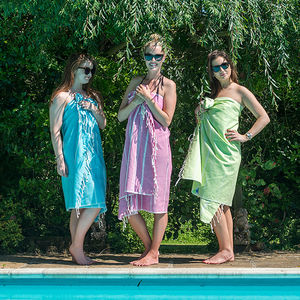 Personalised Hammam Beach Towel