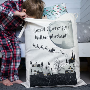 Personalised Santa Sack - stockings & sacks