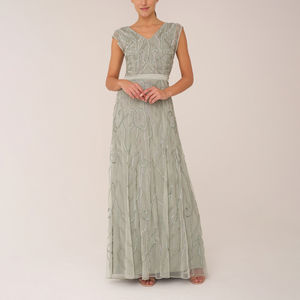 Mint Gown With Full Skirt