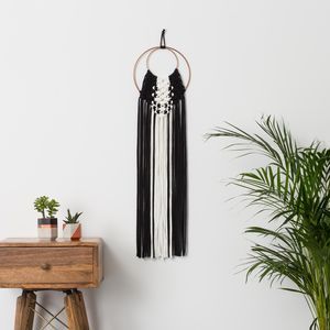 Black And Cream Contemporary Hanging