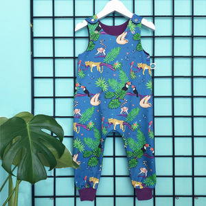 Tropical Organic Dungarees - clothing