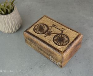 Bicycle Cufflink Or Watch Box - watch storage