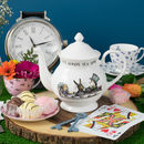 'It's Always Tea Time' Alice In Wonderland Teapot