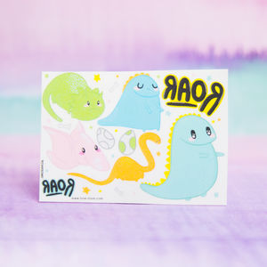 Children's Dinosaur Temporary Tattoo Stocking Filler
