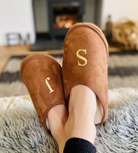 Personalised Sheepskin Slippers