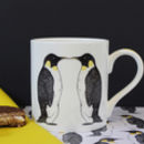 Cute Penguin Fine Bone China Mug