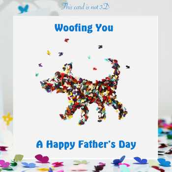 Father's Day Dog Card