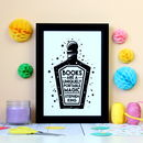Stephen King Quote Potion Print