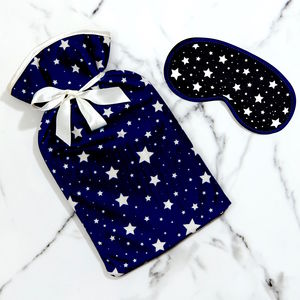 Hot Water Bottle Velvet Cover And Bottle In Star - gifts for her