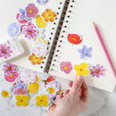 Floral Blooms Sticker Pack