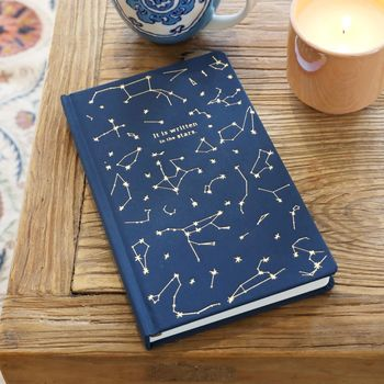 'Written In The Stars' Constellations Journal