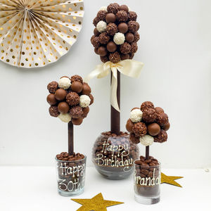 Personalised Mixed Truffle Tree - gifts for her sale