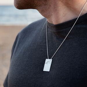 Men's Coastline Pendant