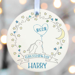 Christening Gifts Girls Boys Godparent - personalised