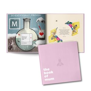A Personalised Book Of Mum Gift - keepsake books